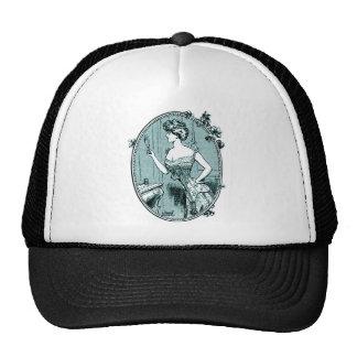 Corset advertising, France 1900 Trucker Hat