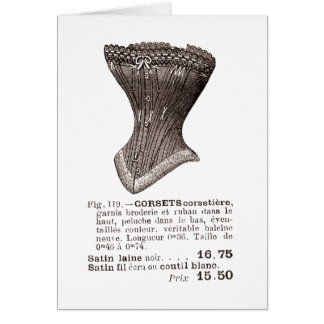 corset Fig. 119 Card