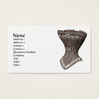 corset Fig 119 (version 2) Business Card