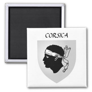 Corsica Coat of Arms Magnet