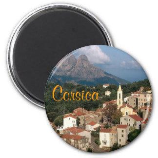Corsica France magnet