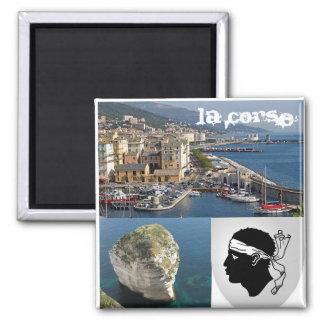 Corsica Square Magnet
