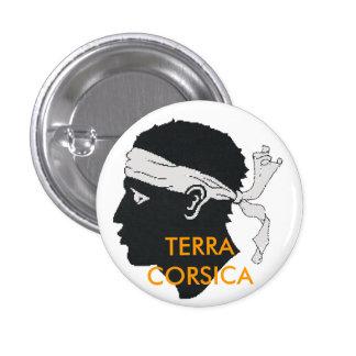 corsica will terra 3 cm round badge