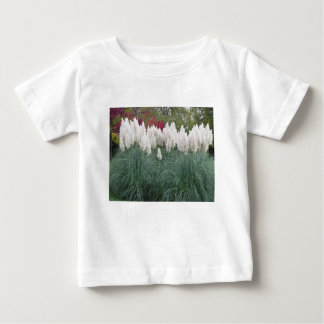 Cortaderia selloana known as pampas grass baby T-Shirt