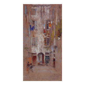 Corte del Paradiso by Whistler Posters