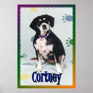 Cortney My Dog Poster