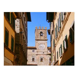 Cortona Tuscany Italy Postcard