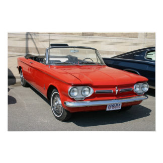 Corvair Convertable Poster