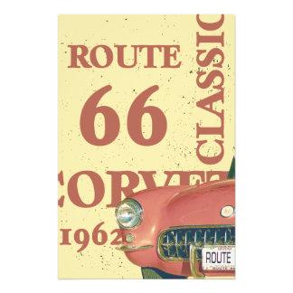 Corvette 1962 photo print