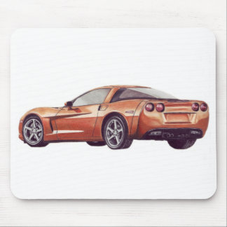 Corvette C6 Mouse Pad