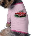 Corvette dog shirt
