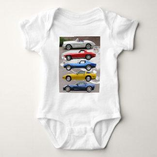 Corvette Generations Baby Bodysuit