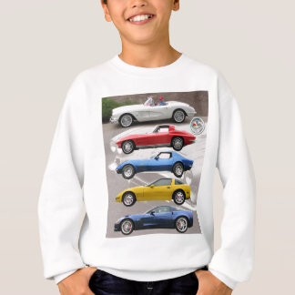 Corvette Generations Sweatshirt