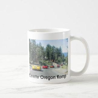 Corvette Oregon Romp Basic White Mug