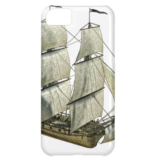 Corvette Sailboat with Full Sails iPhone 5C Covers