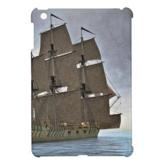 Corvette Sailing Vessel in Calm Waters Cover For The iPad Mini