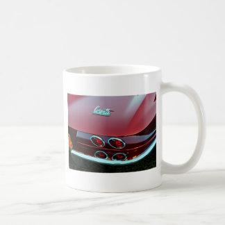 Corvette sting ray tail lights coffee mugs