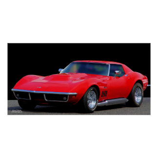 CORVETTE: THE AMERICAN SPORTS CAR POSTER