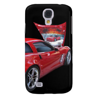 Corvette with Airbrush Galaxy S4 Cover