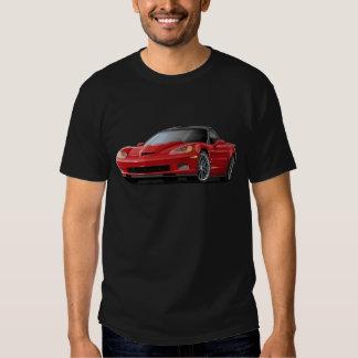Corvette ZR1 Red Car T Shirts