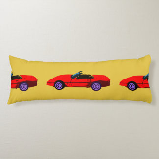 Corvettes Lovers Body Cushion