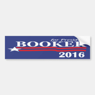Cory Booker For President 2016 Bumper Sticker