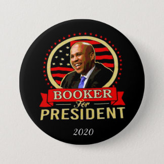 Cory Booker for President 2020 7.5 Cm Round Badge