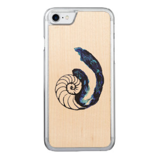 Cosima Tattoo Orphan Black Customizable Background Carved iPhone 8/7 Case