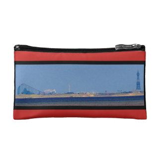 COSMETIC BAG. BLACKPOOL FROM SOUTHPORT. COSMETIC BAG