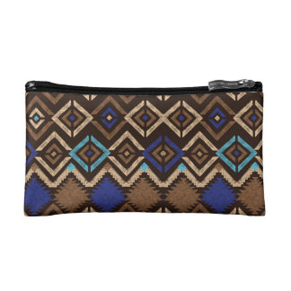 Cosmetic  Bag - Ethnic Stamp Makeup Bags