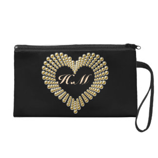 Cosmetic Bag- fancy night out with wristlet