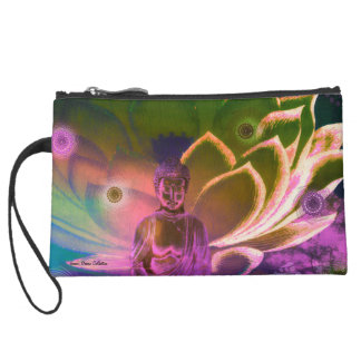 Cosmetic Bag Lavender Mist Lotus Buddha