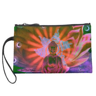 Cosmetic Bag Lotus Buddha Cosmic Sun