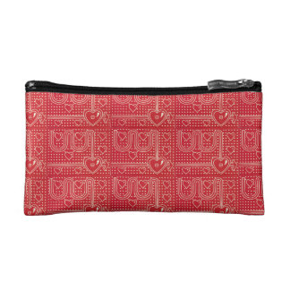 Cosmetic Bag: Straight To The Heart Cosmetics Bags