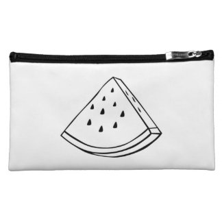 Cosmetic summer bag watermelon love! cosmetics bags