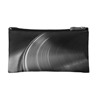 CosmeticBag: Vinyl Record and Turntable Makeup Bag