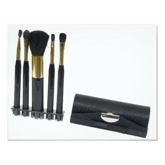 CosmeticBrushes072509 11 Cm X 14 Cm Invitation Card