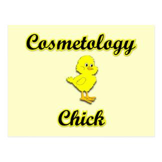 Cosmetology Chick Postcard