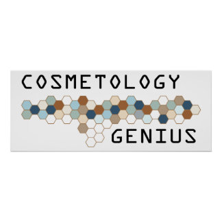 Cosmetology Genius Poster