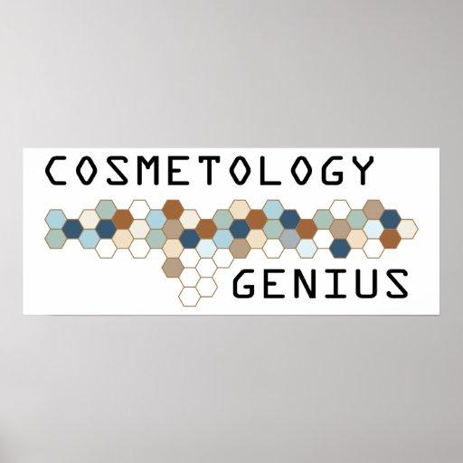 Cosmetology Genius Posters