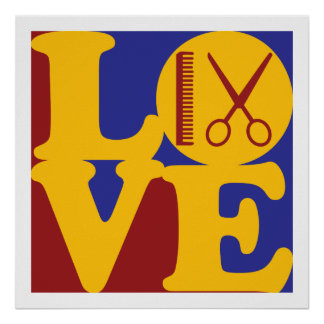 Cosmetology Love Poster