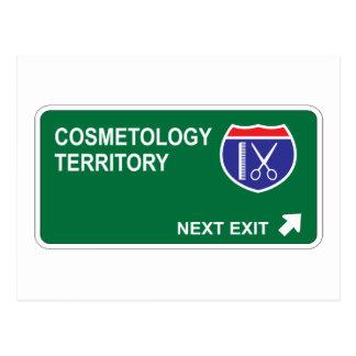 Cosmetology Next Exit Postcard