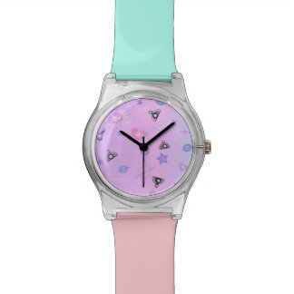Cosmia Wheeling in Space: Two Toned Watch