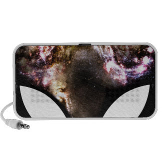 Cosmic Alien Laptop Speaker