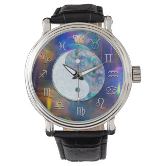 Cosmic Astrology Aura Yin Yang Watch