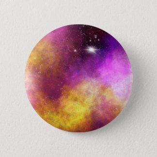 Cosmic Aura 6 Cm Round Badge