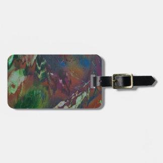 Cosmic Aurora Luggage Tag