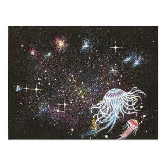 Cosmic ballet postcard