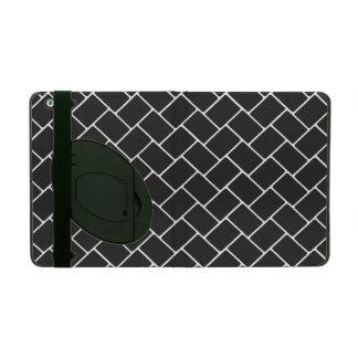 Cosmic Black Basket Weave iPad Case