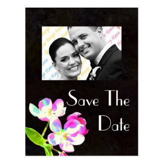 Cosmic Blossoms Save the DATE postcard